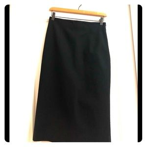 Banana Republic pencil skirt with back kick pleat